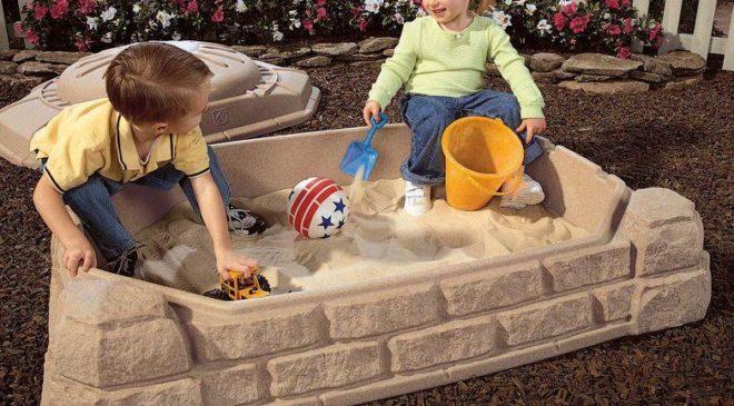 Plastová pískoviště jsou pro děti ideální volbou!