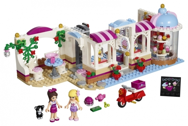 LEGO Friends Cukrárna v Heartlake