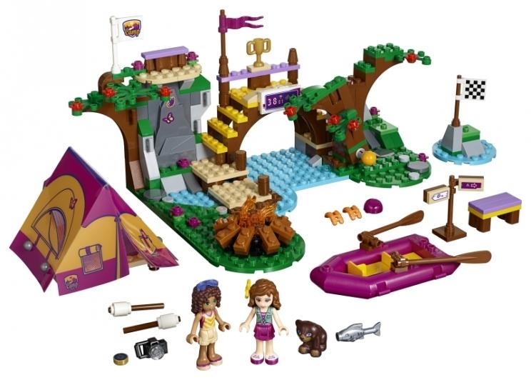 LEGO Friends Dobrodružný tábor - jízda na divoké vodě