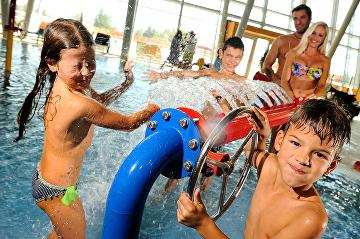 Novoroční výprodej: super slevy na vstupenky do Aqualand Moravia